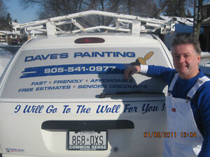 DAVE'S PAINTING -A LICENSED AND INSURED PROFESSIONAL PAINTER!!