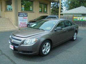 2012 CHEVROLET MALIBU LS- ONSTAR, BLUETOOTH, SPEED CONTROL, ALLO