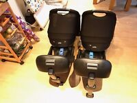 2 x Baby Carriers/Cot Car Seats