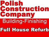 Loft conversion, chimney breast removal, Kitchen and bathroom, finishing works, construction works