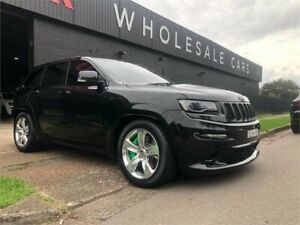 2014 Jeep Grand Cherokee WK MY15 SRT Black 8 Speed Sports Automatic Wagon Mayfield West Newcastle Area Preview