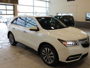 2016 Acura MDX Tech - Heated Leather Seats, Sunroof, Remote Star
