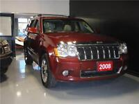 2008 Jeep Grand Cherokee Overland+DIESEL+NAVIGATION