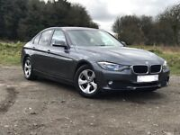 BMW 3 Series EfficientDynamics 320d Auto Metallic Grey BMW Nav Great Condition