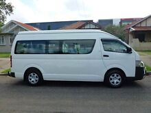 2008 Toyota Hiace KDH223R Commuter White 4 Speed Automatic Mini Bus Homebush West Strathfield Area Preview