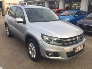 2012 Volkswagen Tiguan 5N MY13 132TSI Tiptronic 4MOTION Pacific Silver 6 Speed Sports Automatic Maryborough Fraser Coast Preview