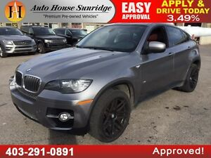 2008 BMW X6 35i NAVIGATION BACKUP CAMERA 90 DAYS NO PAYMENTS!