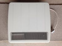 Dimplex PLX 500 TI wall heater with thermostat and 24-hour programmer