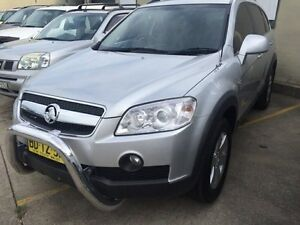 2010 Holden Captiva CG MY10 CX AWD Silver 5 Speed Sports Automatic Wagon Croydon Burwood Area Preview