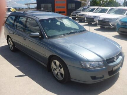 2004 Holden Commodore VZ Lumina Blue 4 Speed Automatic Wagon