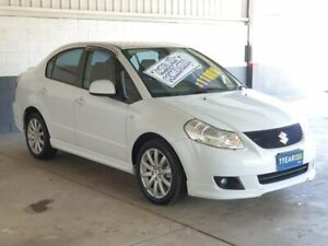 2012 Suzuki SX4 GYC MY10 S White 6 Speed Constant Variable Sedan Homebush Strathfield Area Preview