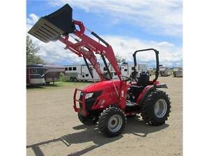 New TYM T354 - 35 HP Ranch Tractor w. ROPS & Front Loader Edmonton Edmonton Area image 2