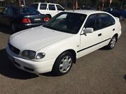 2001 Toyota Corolla AE112R Ascent Seca White 4 Speed Automatic Liftback Woodville Park Charles Sturt Area Preview