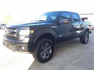 "2014 Ford F-150 FX4 4x4 ~ Level Kit~33"" AT's ~ EcoBoost $276 B/W"