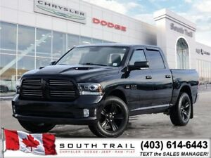 2016 Ram 1500 Sport 5.7L V8 HEMI Leather Sunroof TowPack B/U cam