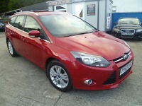 2013 FORD FOCUS 1.6 TITANINM NAVIGATOR AUTO POWERSHIFT GEARBOX ONLY 9K MILES