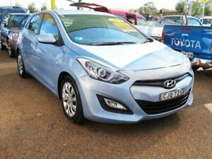 2012 Hyundai i30 GD Active Blue 6 Speed Manual Hatchback Minchinbury Blacktown Area Preview