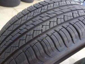 245/45/18 Michelin Primacy MXV4 All Season 2 used tires, 75% tread left