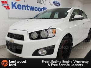 2013 Chevrolet Sonic LT 5-SPD manual with heated/cooled seats an