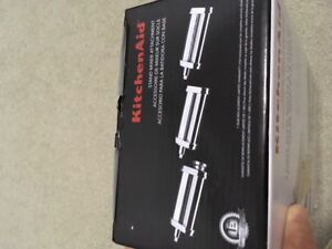 Kitchen aid 3 pc pasta roller and cutter set