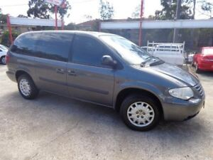 2005 Chrysler Voyager RG 05 Upgrade SE Grey 4 Speed Automatic Wagon Sylvania Sutherland Area Preview