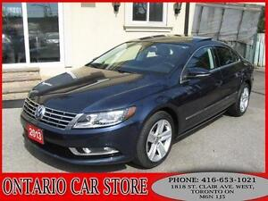 2013 Volkswagen CC SPORTLINE NAVIGATION PANORAMIC SUNROOF
