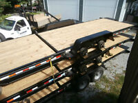 Demo 22' Tilt Equipment Trailer 15000 lb GVWR