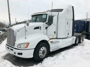 Kenworth T660 2012 couchette - 13.2k 40k - MX 455 - 13 vit - Lot