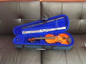 NEW Menzel Violin 4/4, 3/4, 2/4, or 1/4 with Case and Bow Edmonton Edmonton Area image 1
