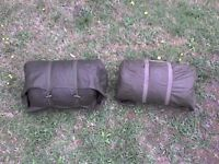2 Army Special Quilted warm Sleeping Bags