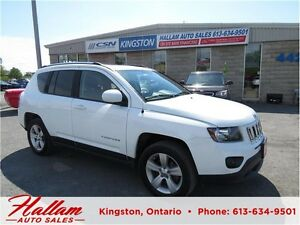 2014 Jeep Compass North, Leather, Sunroof, Bluetooth, 4 x 4