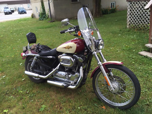 Harley Sportster near mint : $6900 Certified  new tires/battery
