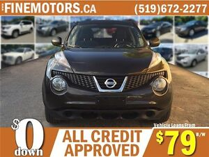 2011 NISSAN JUKE SV AWD * CAR LOANS FOR ALL CREDIT FROM $79 b/w London Ontario image 4
