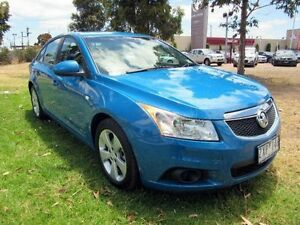 2013 Holden Cruze JH MY13 CD Equipe Blue 6 Speed Automatic Sedan Hoppers Crossing Wyndham Area Preview