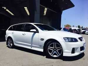 2012 Holden Commodore VE II MY12 SV6 Heron White 6 Speed Automatic Sportswagon Beckenham Gosnells Area Preview