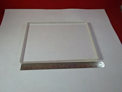 Optical Fused Silica Glass Thick Plate Optics As Is 91-103