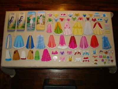 Melissa & Doug Doll Clothing - HUGE LOT Melissa & Doug Disney Princess Magnetic Clothing + Tin Sets - No Dolls
