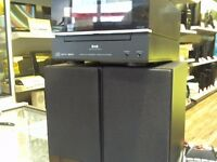 SONY HI FI SYSTEM WITH DAB RADIO, DOCKING STATION AND CD PLAYER