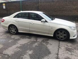Mercedes E350 Blue Efficiency