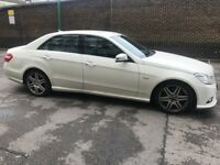 Mercedes E350 Blue Efficiency