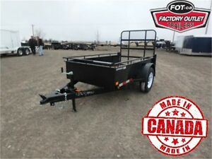 4 X 8 Solid Side Utility Trailer - ONLY $1,560 -*All In Price!*-