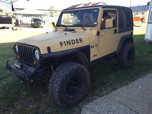2002 Jeep TJ Apex Custom