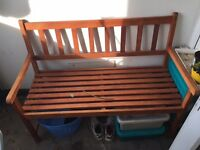 Free garden bench to be picked up before 31st of March
