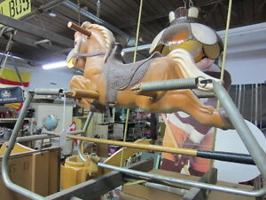 OLD TOY ROCKING HORSE