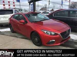2014 Mazda Mazda3 GS-SKY STARTING AT 123.41 BI-WEEKLY
