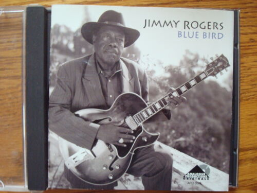 JIMMY ROGERS (CD) AUTOGRAPHED  BLUE BIRD