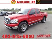 2008 Dodge Ram1500 4X4 SLT LEATHER ROOF CHROME EVERYONE APPROVED