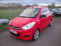 HYUNDAI I10 CLASSIC - FULL SERVICE HISTORY, Red, Manual, Petrol, 2011