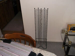 CD Rack Hold up to 114 CDS.Excellent Shape.