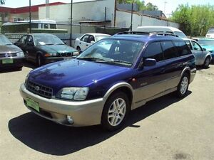 2000 Subaru Outback MY00 Limited Purple Blue 4 Speed Automatic Wagon Punchbowl Canterbury Area Preview